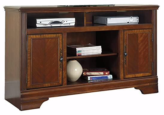 Signature Design by Ashley Hamlyn Collection TV Stand, 60 , Dark Brown