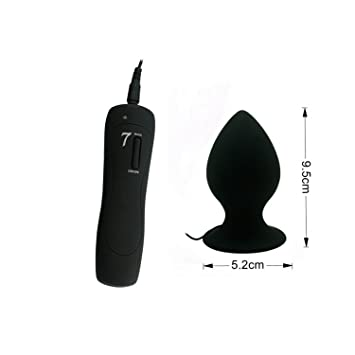 Adult Sex Toy Silicone Anal Butt Plug Vibrator Large Suction Cup Anal  Vibrator for Women