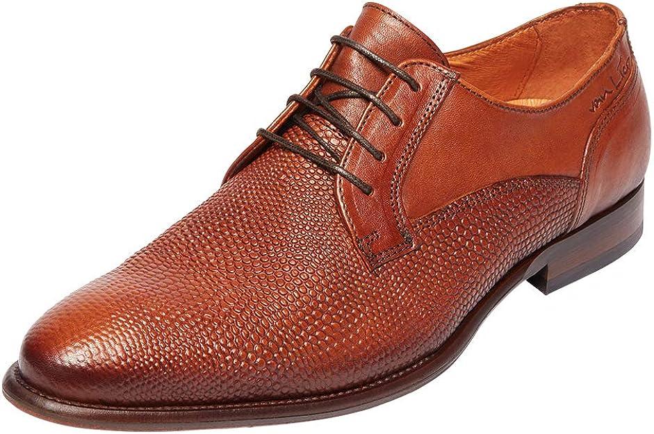 Van Lier , Chaussures de Ville à Lacets pour Homme Marron Cognac ...