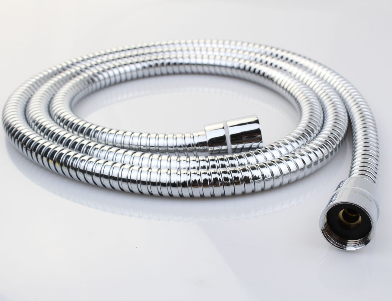 Xogolo 1.75m Anti-Kink Shower Hose,Stainlees Steel - Polished Chrome