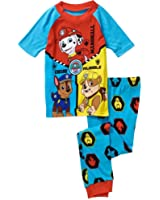 Paw Patrol Boys Cotton Short Sleeve Pajamas Set (Extra Small (4))