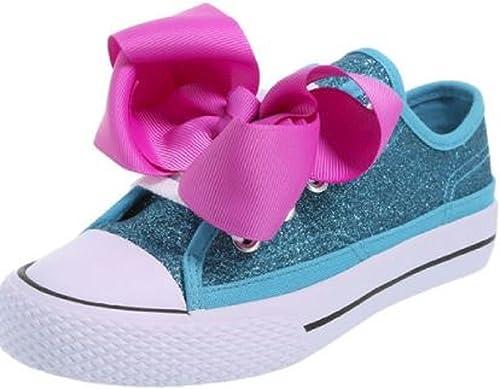 Jojo Siwa Girls Bow Sneaker Glitter