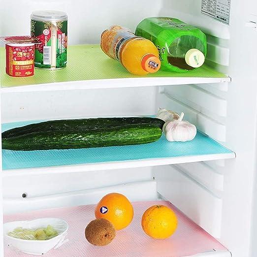 Caj/ón,etc 45 * 29 cm Mostrador de Cocina Alfombras de Refrigeradorde Silicona Ideal para Frigor/ífico GOODGDN 8 pcs Multifuncional Bases Antideslizantes EVA