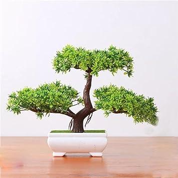 2018 Kunstliche Bonsai Baum Kunstliche Pflanzen Japanischer Pinien