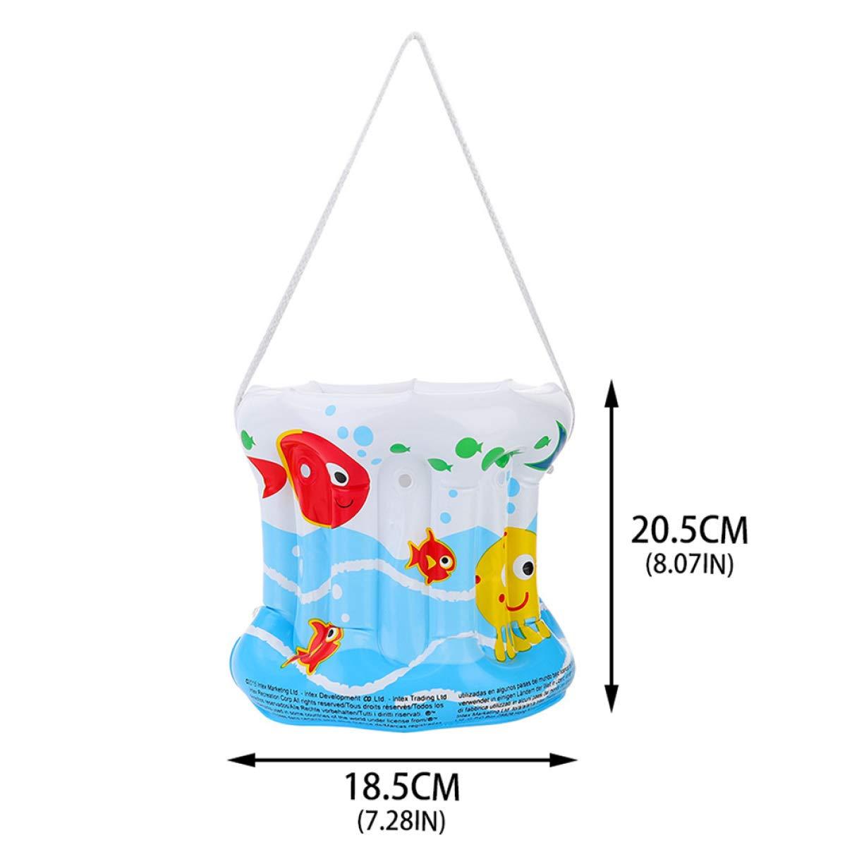 Compra Cubo Inflable de Mano de Tiddds, de PVC portátil ...
