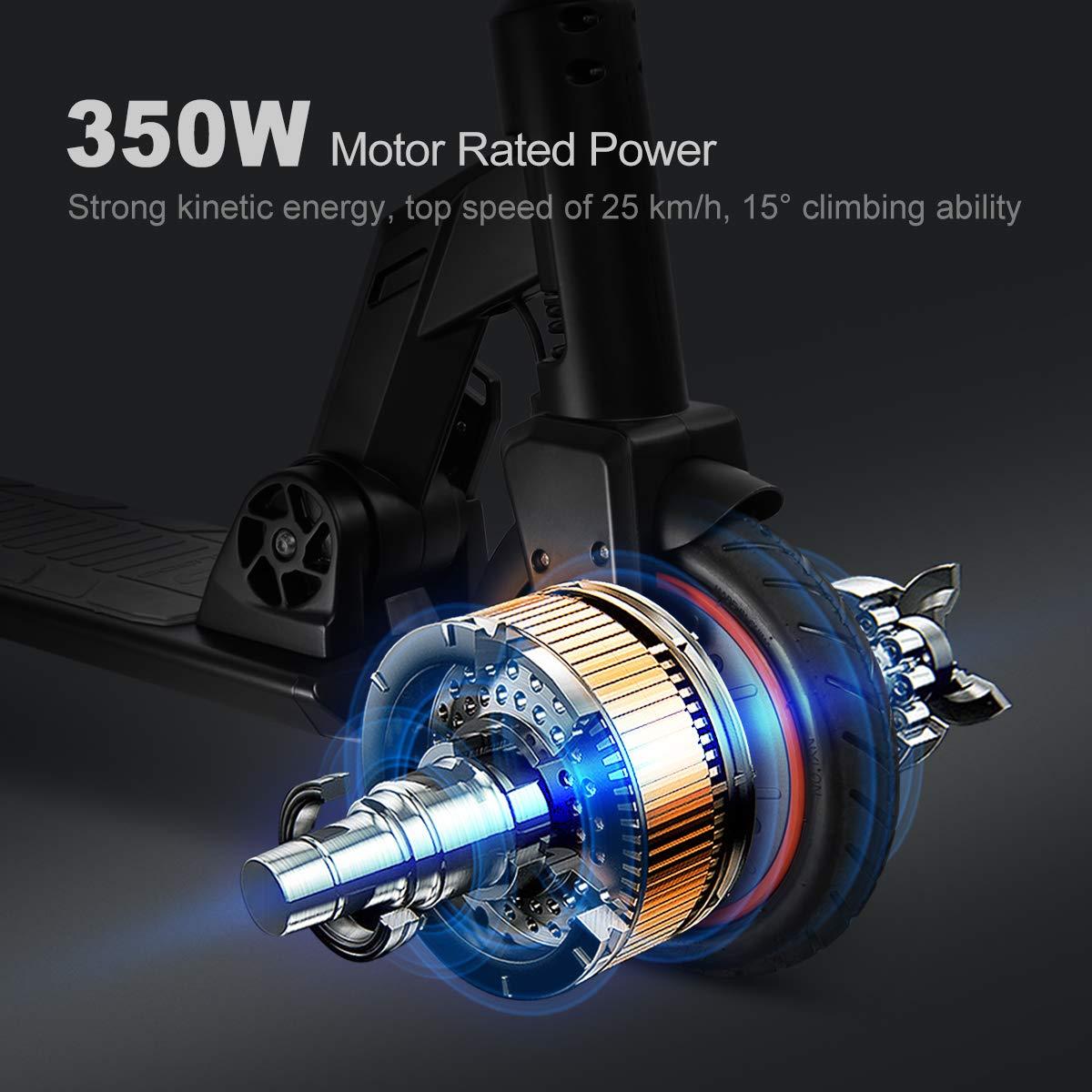 urbetter Kugoo M2 Pro Patinete Electrico Adulto, Patinete Eléctrico Plegable,7.5AH 350W Pantalla LCD 3 Modos de Velocidad 8.5 Pulgadas sólido ...