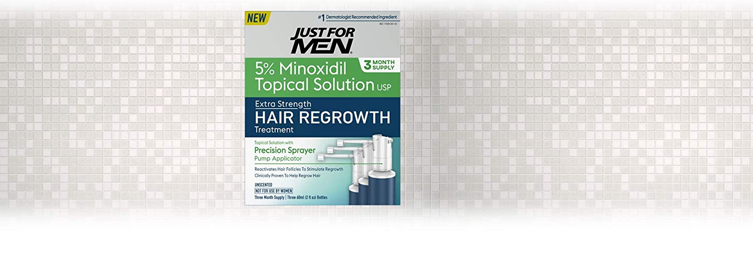 Amazon.com: Just for Men Minoxidil Tratamiento de ...