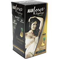 Manforce Staylong Pineapple Flavour Condoms - Pack 20 Pieces