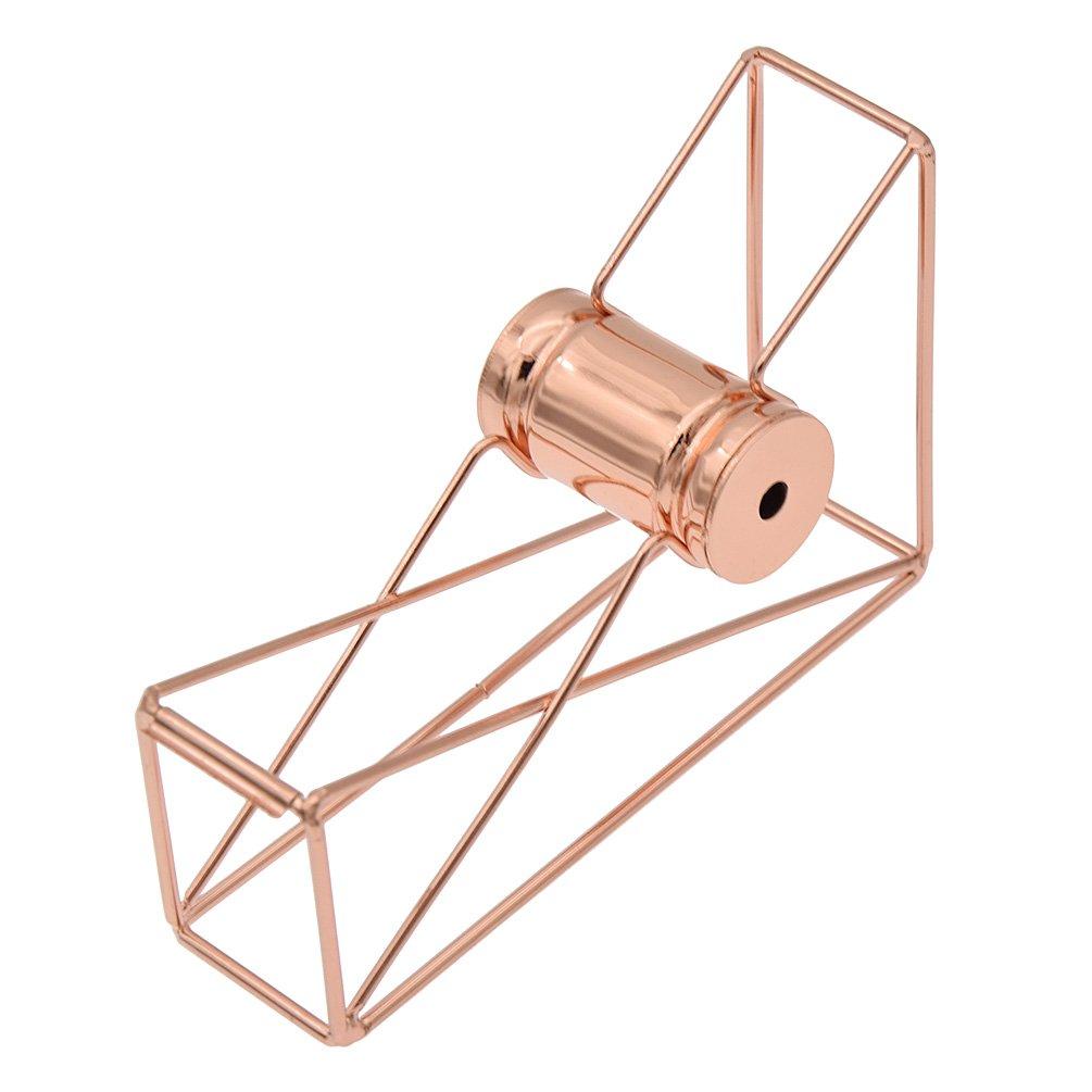 Kesheng Porta scotch per nastro Dispenser per nastro adesivo in Metallo Semplice Geometria Tape Cutter