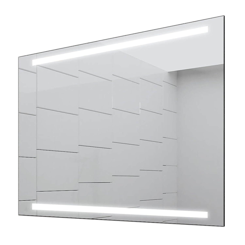 Concept2u LED LED LED Badspiegel Enjoy Badezimmerspiegel mit Beleuchtung 80 cm Breit x 80 cm Hoch Licht Links+RECHTS e9a27f