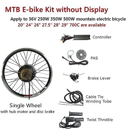 "Fast shipping 48v 1000w 700C//29/"" Rear Wheel Ebike Conversion Kit controller"