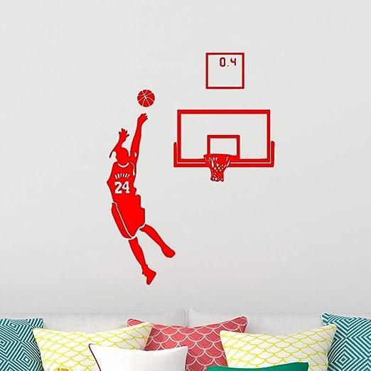 Apliques Adhesivo de pared para dormitorio Juego de baloncesto ...