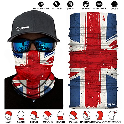 Apprehensive Men Outdoor Triangle Scarf Colorful Face Mask Graffiti Camouflage Skeleton Printing Motorcycle Cycling Bandana Neck Warmer Men's Accessories