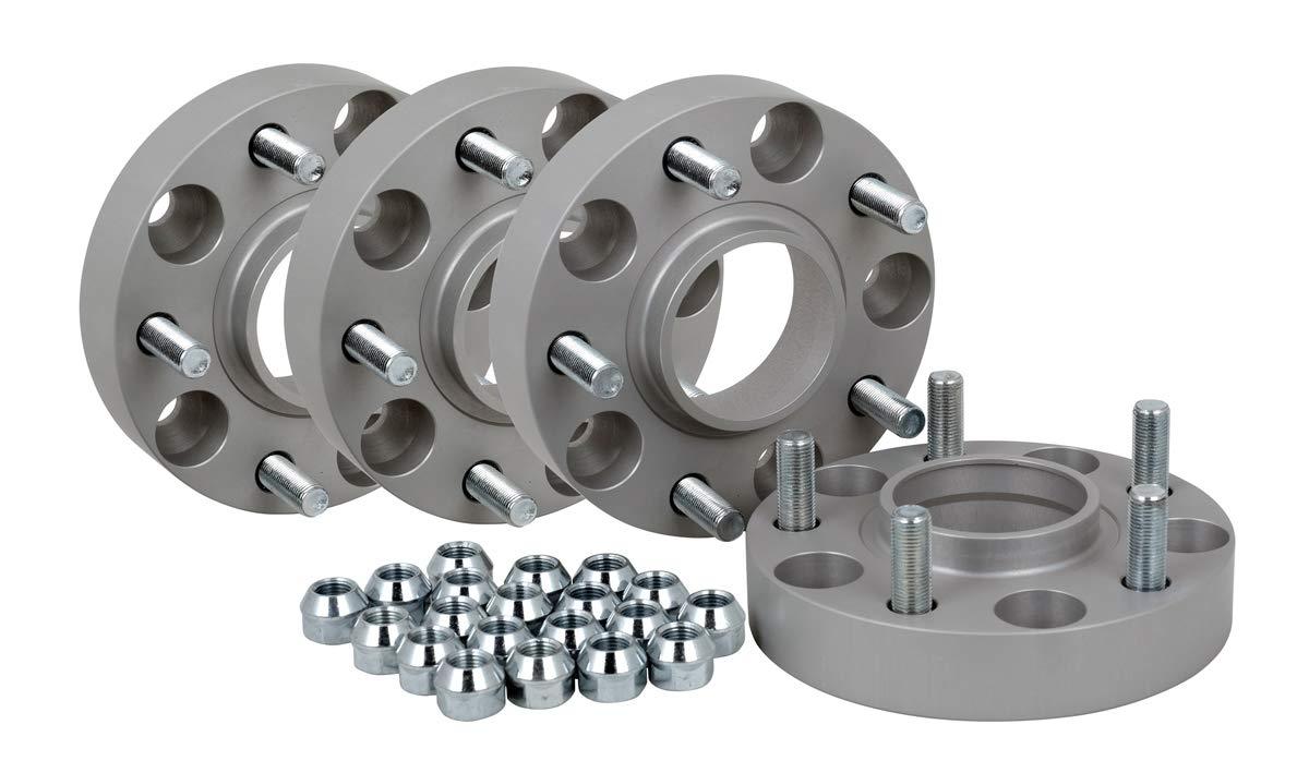 /Élargisseur de voie en aluminium 4 pi/èces incl 25 mm par disque // 50 mm par essieur Homologu/é T/ÜV