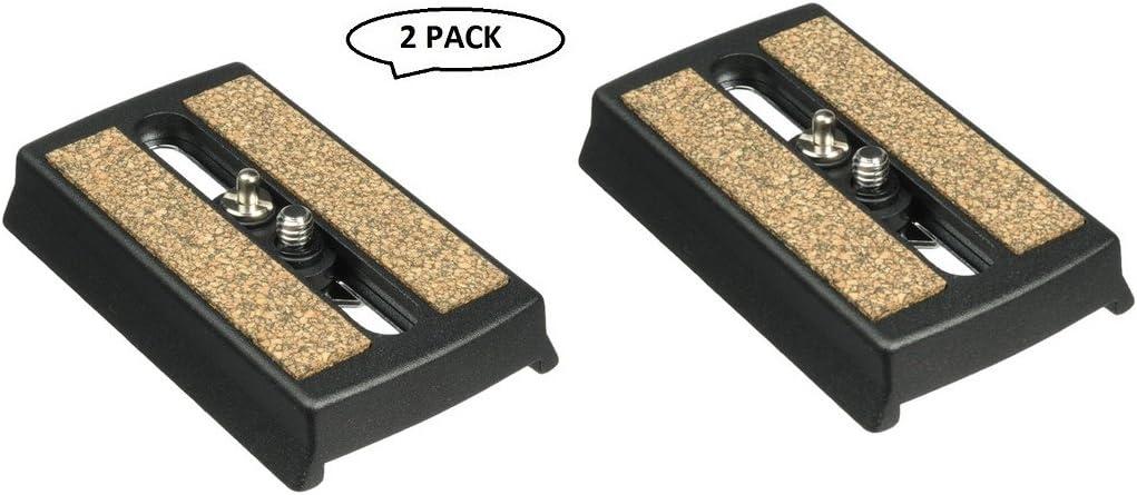 Magnus VT-QRP400 Quick Release Plate for VT-4000 Tripod (2 Pack)