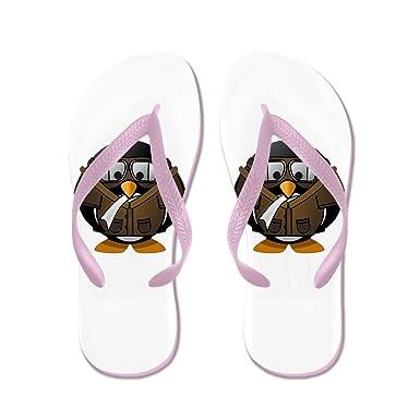 b14523cb6490 Amazon.com  Truly Teague Women s Little Round Penguin - Airplane Jet ...
