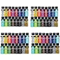 FolkArt PROMOGLS16 Enamel Glass Painting Set (4 Pack)