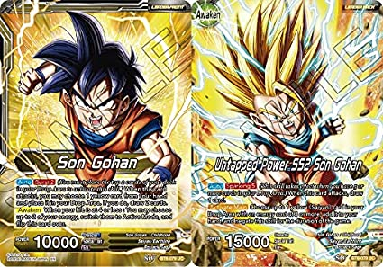 Dragon Ball Super Tcg Singles Son Gohan Untapped Power Ss2 Son Gohan Bt6 079 Uc Destroyer Kings