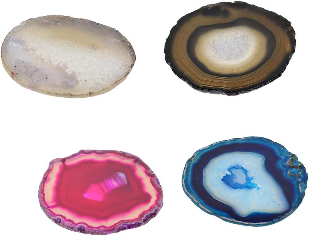 Piedras Preciosas de Ágata Natural, Originalmente Material Natural con un Bonito Color Natural - c