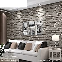 GXX faux brick tile pattern wallpaper/Project clothing shop TV background wall paper/ Chinese modern minimalist living room wallpaper-D