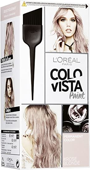 Loréal Paris Colovista Permanent Paint Roseblonde Dauerhafte Haarfarbe Mit Hochkonzentrierten Farbpigmenten Und Neu Definierten Reflexen