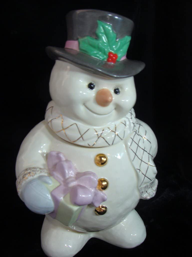 Snowman Cookie Jars Page Two