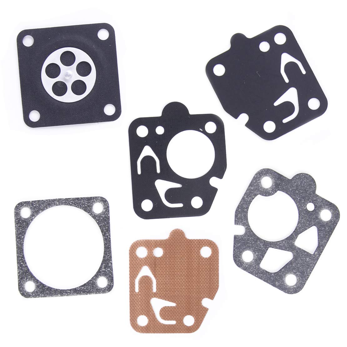 LETAOSK Carburetor Gasket Repair Kit Fit for Kawasaki TG18 TG20 TG24 TG28 TG33 TF22