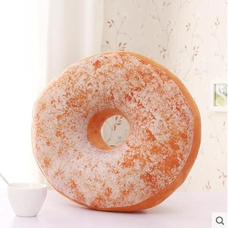panpan amortiguar Simulación Creativa Donuts Almohada 3D ...