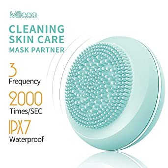 Electric Rotating Facial Cleansing Brush USB Rechargeable Sonic ...