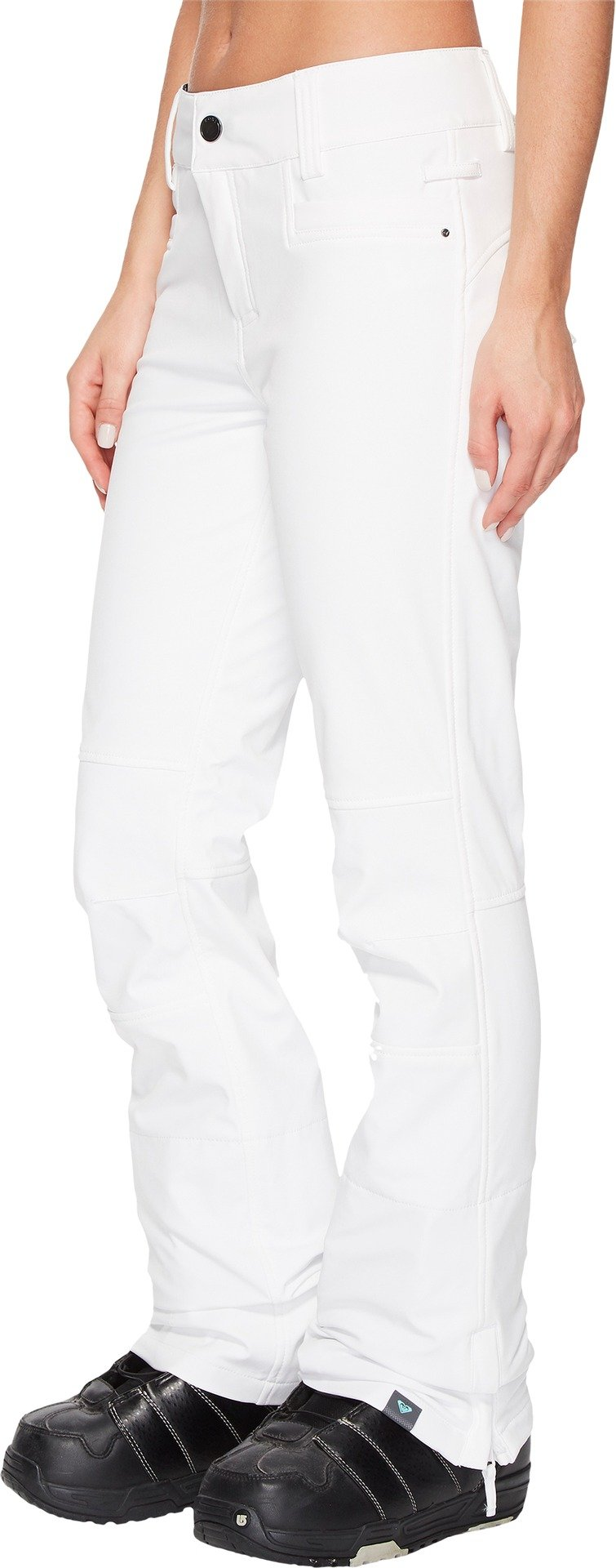 Roxy Snow Junior's Creek Snow Pant, Bright White New, XL by Roxy (Image #2)