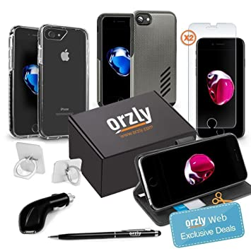 Orzly® Paquete de Accesorios para iPhone 8 / iPhone 7 ...
