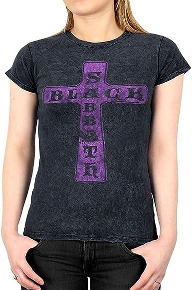BLACK SABBATH Purple Reprint Shirt Logo Reprint Size S-XXL