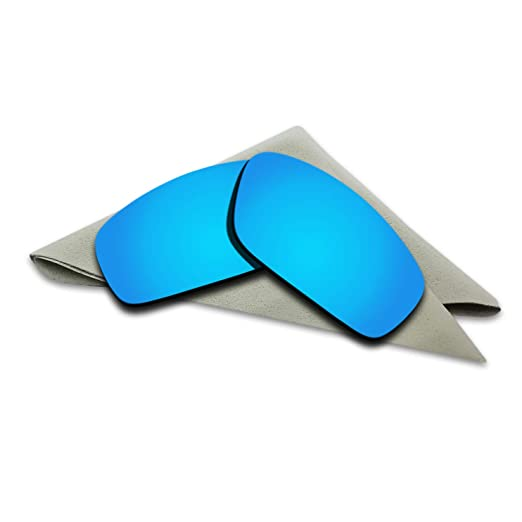 163176512b1 Polarized Lenses Replacement for Oakley Splinter Blue Mirrored at ...