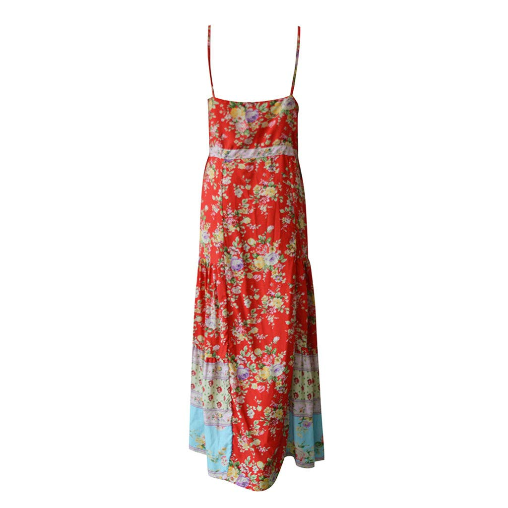 Amazon.com: Womens Summer Bohemian Beach Dress,Sharemen ...
