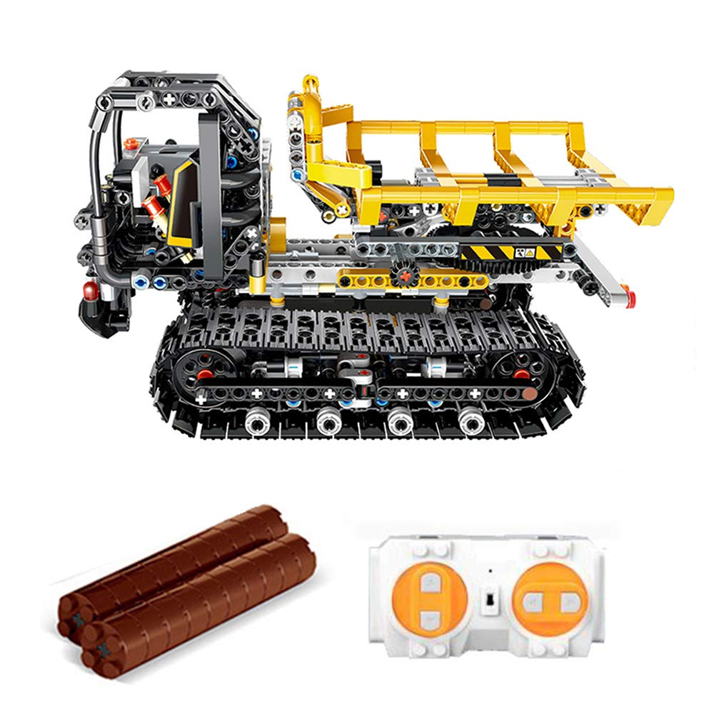 Cigooxm 774PCS Remote Control Building Blocks Car RC Track Building Blocks Educational Toys for Kids