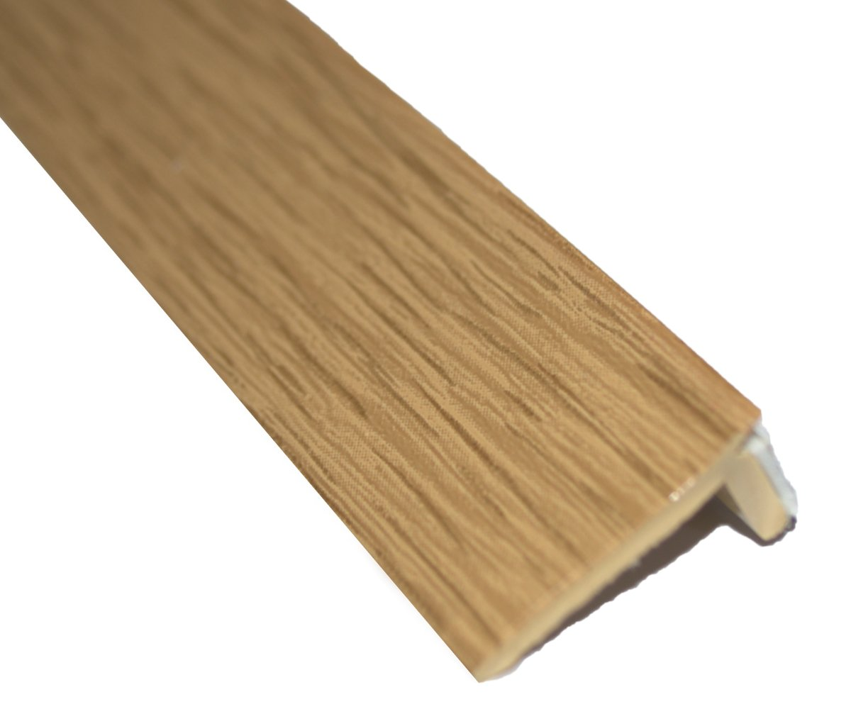 Light Oak Laminated Floor Edge Trim Adhesive 10 X 2mtr 20mtrs Alternate To Scotia