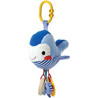 Manhattan Toy Link and Play Whale Teether and Rattle Travel Toy: Toys & Games