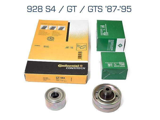 partworks - Correa de distribución para 928 S4/GT/GTS 87 de 95 correa dentada/Rueda/Cambio/Rodillo Tensor: Amazon.es: Coche y moto
