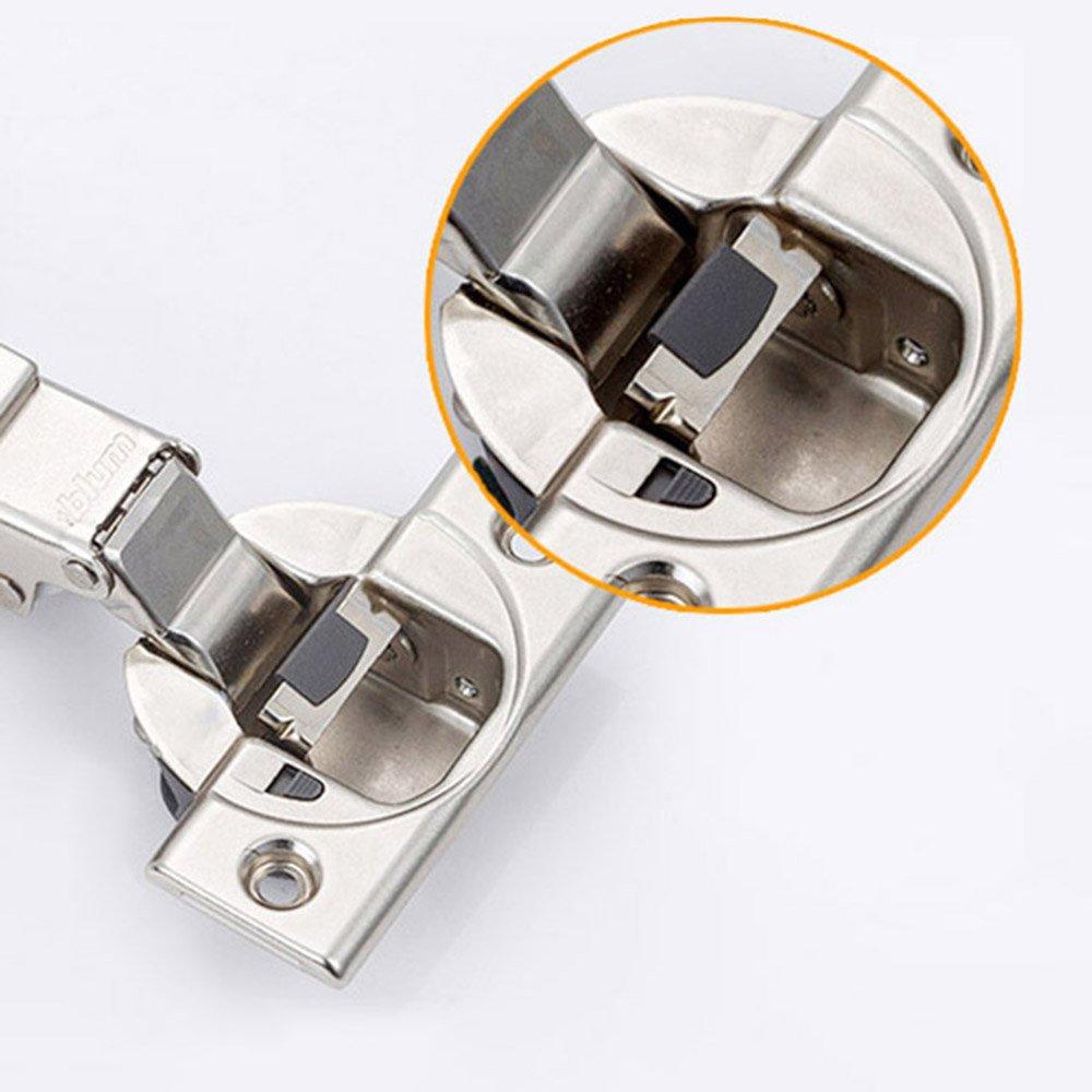 Blum BLUMOTION 110 Degr/é Standard Plein Recouvrement Charnieres avec Amortisseur 71MB3550 M/écanisme de Fermeture Automatique Charni/ère pour Armoires de Porte Cuisine Fabriqu/é en Autriche Lot de 2