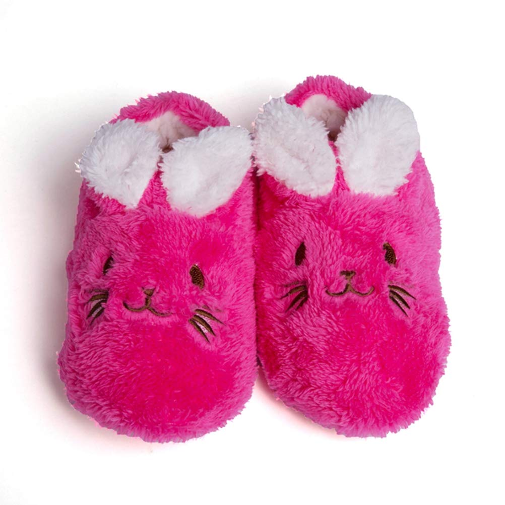 Maybolury Toddler/Little Kids Boys Girls Cute Animal Indoor Slippers Warm Cotton House Winter Slippers Shoes