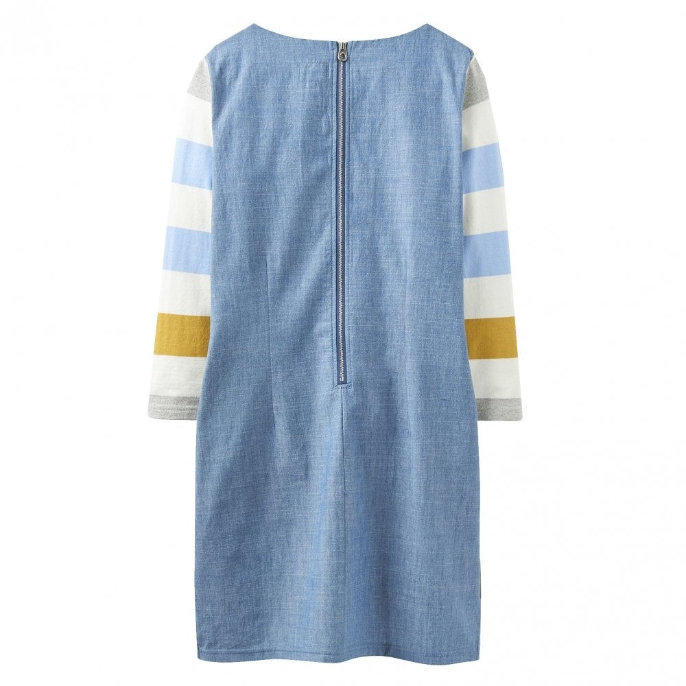 f6c23ce820d Joules Jade Jersey Woven Mix Womens Tunic (Z): Amazon.co.uk: Clothing