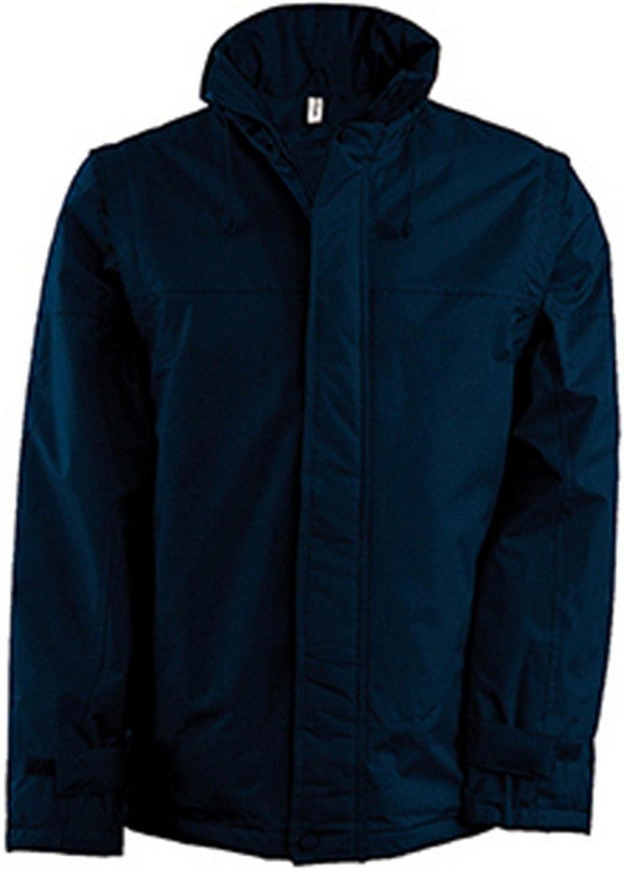 Kariban Mens Padded Factory Jacket