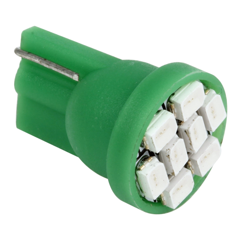 Partsam 6pcs Green LED Light Bulb T10 PC194 168 Lamp 8-SMD Instrument Panel Cluster Gauge Dashboard Lighting Indicators