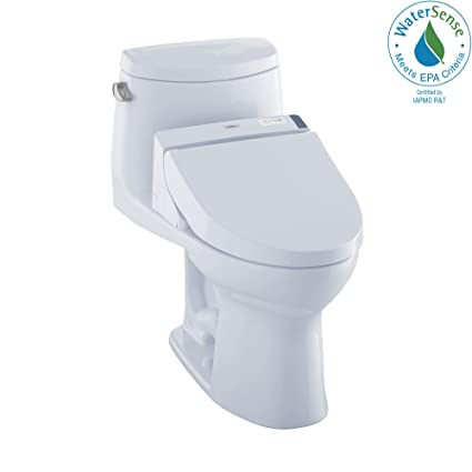 Sensational Toto Mw6042044Cefg01 Washlet Ultramax Ii One Piece Elongated 1 28 Gpf Toilet And Washlet C200 Bidet Seat Cotton White Pabps2019 Chair Design Images Pabps2019Com