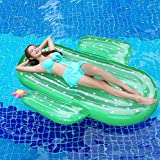 swimming pool plans Sea Plan Large Outdoor Swimming Inflatable Pool Floatie Raft Lounge for Adults & Children,Inflatable Cactus Pool Float for Summer Party Swimming Beach Holiday