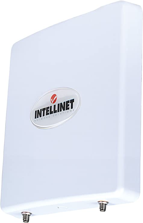 Intellinet 2T2R MIMO - Antena (12 dBi, 2.4-2.5 GHz, 50 Ω, 22 ...