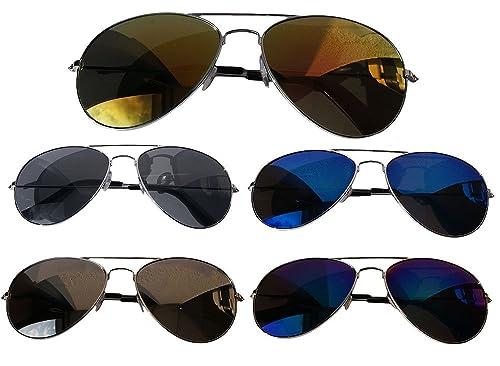 Gafas de sol clásicas de aviador. Moda de 2017