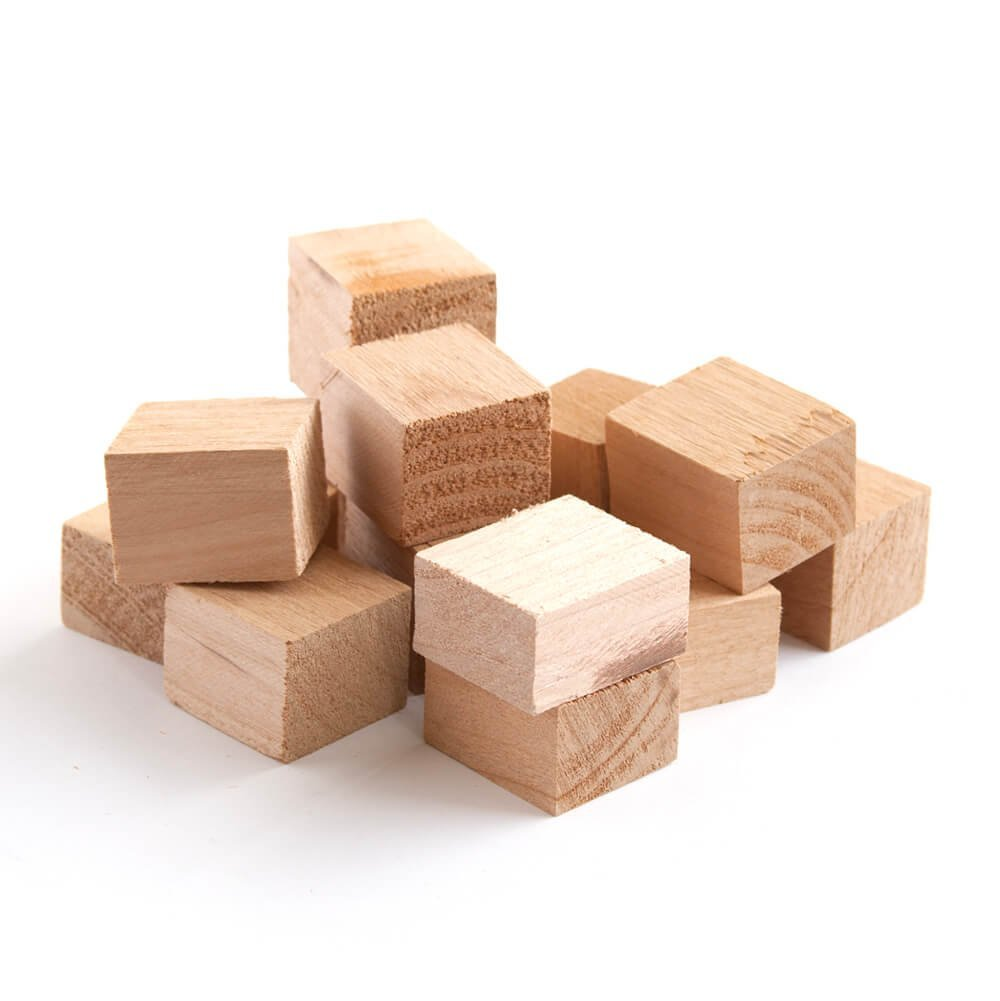 Wood Fire Grilling Co. Smoking Blocks - Alder Wood Chunks for Smoking (10 pounds)