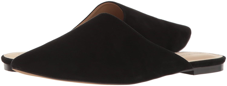ADRIENNE VITTADINI Footwear Women's flory Pointed Toe Flat Mule Blue Size 5.5