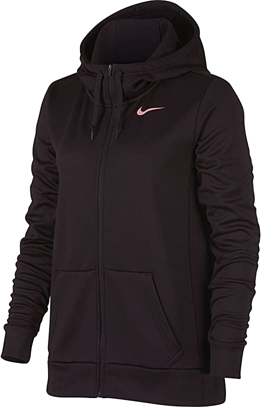 WOMENS NIKE THERMA FIT FULL ZIP KO ALL TIME TRAINING WORKOUT